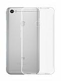 Eiroo Clear Hybrid Xiaomi Redmi Note 5A / 5A Prime Silikon Kenarlı Şeffaf Rubber Kılıf
