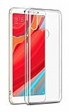 Eiroo Clear Hybrid Xiaomi Redmi S2 Silikon Kenarlı Şeffaf Rubber Kılıf