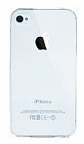 Eiroo Clear iPhone 4 / 4S Şeffaf Silikon Kılıf