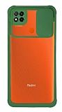 Eiroo Clear Lens Xiaomi Poco C3 Yeşil Silikon Kılıf
