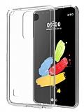 Eiroo Clear LG Stylus 2 / Stylus 2 Plus Şeffaf Silikon Kılıf