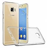 Eiroo Clear Samsung Galaxy A3 2017 Şeffaf Silikon Kılıf