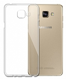 Eiroo Clear Samsung Galaxy A7 2016 Şeffaf Silikon Kılıf