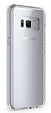 Eiroo Clear Samsung Galaxy S8 Plus Şeffaf Silikon Kılıf