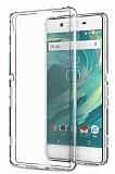 Eiroo Clear Sony Xperia XA Ultra Şeffaf Silikon Kılıf