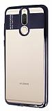 Eiroo Clear Thin Huawei Mate 10 Lite Siyah Kenarlı Şeffaf Silikon Kılıf