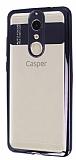 Eiroo Clear Thin Casper Via G1 Plus Siyah Kenarlı Şeffaf Silikon Kılıf