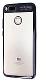 Eiroo Clear Thin Xiaomi Mi 5X / Mi A1 Siyah Kenarlı Şeffaf Silikon Kılıf