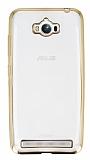 Eiroo Color Fit Asus ZenFone Max Gold Kenarl� �effaf Silikon K�l�f