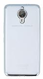 General Mobile GM 5 Plus Silver Kenarlı Şeffaf Silikon Kılıf