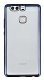 Eiroo Color Fit Huawei P9 Dark Silver Kenarl� �effaf Silikon K�l�f
