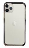 Eiroo Color Fit iPhone 11 Pro Kamera Korumalı Siyah Silikon Kılıf