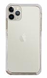 Eiroo Color Fit iPhone 11 Pro Kamera Korumalı Beyaz Silikon Kılıf