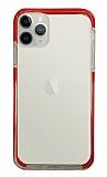 Eiroo Color Fit iPhone 11 Pro Kamera Korumalı Kırmızı Silikon Kılıf