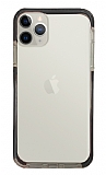 Eiroo Color Fit iPhone 12 Pro 6.1 inç Kamera Korumalı Siyah Silikon Kılıf