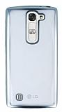 LG G4c Silver Kenarlı Şeffaf Silikon Kılıf