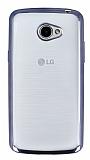 LG K5 Dark Silver Kenarlı Şeffaf Silikon Kılıf