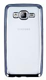 Samsung Galaxy On5 Siyah Kenarlı Şeffaf Silikon Kılıf