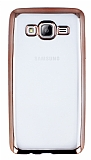 Eiroo Color Fit Samsung Galaxy On5 Rose Gold Kenarl� �effaf Silikon K�l�f