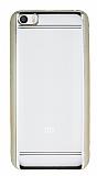 Eiroo Color Fit Xiaomi Mi 5 Gold Kenarl� �effaf Silikon K�l�f