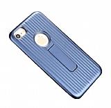 Eiroo Craft View iPhone 6 Plus / 6S Plus Standlı Lacivert Rubber Kılıf