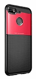 Eiroo Dot Keen General Mobile GM 8 Go Ultra Koruma Kırmızı Kılıf