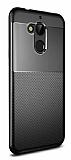Eiroo Dot Keen General Mobile GM 8 Ultra Koruma Siyah Kılıf