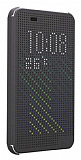 Eiroo Dot View HTC Desire Eye Uyku Modlu Füme Kılıf