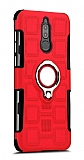 Eiroo Durable Huawei Mate 10 Lite Ultra Koruma Kırmızı Kılıf