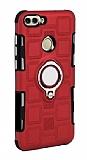 Eiroo Durable Huawei P Smart Ultra Koruma Kırmızı Kılıf