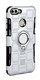 Eiroo Durable Huawei P Smart Ultra Koruma Silver Kılıf