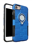 Eiroo Durable iPhone 7 / 8 Ultra Koruma Mavi Kılıf