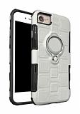 Eiroo Durable iPhone 7 / 8 Ultra Koruma Silver Kılıf