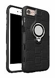 Eiroo Durable iPhone 7 / 8 Ultra Koruma Siyah Kılıf