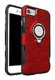 Eiroo Durable iPhone 7 / 8 Ultra Koruma Kırmızı Kılıf