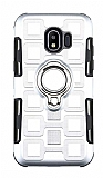Eiroo Durable Samsung Galaxy J2 Core Ultra Koruma Silver Kılıf