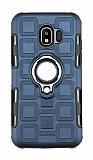 Eiroo Durable Samsung Galaxy J2 Core Ultra Koruma Lacivert Kılıf