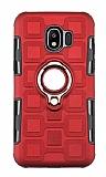 Eiroo Durable Samsung Galaxy J2 Core Ultra Koruma Kırmızı Kılıf