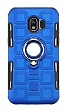 Eiroo Durable Samsung Galaxy J2 Core Ultra Koruma Mavi Kılıf