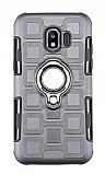 Eiroo Durable Samsung Galaxy J2 Core Ultra Koruma Dark Silver Kılıf