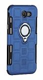 Eiroo Durable Samsung Galaxy J7 Prime / J7 Prime 2 Ultra Koruma Lacivert Kılıf