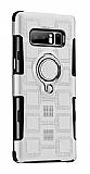 Eiroo Durable Samsung Galaxy Note 8 Ultra Koruma Silver Kılıf