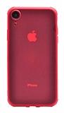 Eiroo Duro iPhone XR Ultra Koruma Kırmızı Kılıf