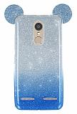 Eiroo Ear Sheenful Lenovo K6 Mavi Silikon Kılıf