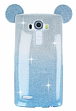 Eiroo Ear Sheenful LG G4 Mavi Silikon K�l�f