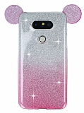 Eiroo Ear Sheenful LG G5 Pembe Silikon K�l�f