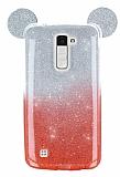 Eiroo Ear Sheenful LG K10 Kırmızı Silikon Kılıf