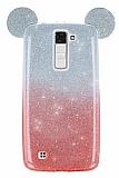 Eiroo Ear Sheenful LG K8 Kırmızı Silikon Kılıf