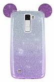 Eiroo Ear Sheenful LG K8 Mor Silikon Kılıf