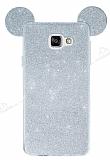 Ear Sheenful Samsung Galaxy A3 2017 Silver Silikon Kılıf